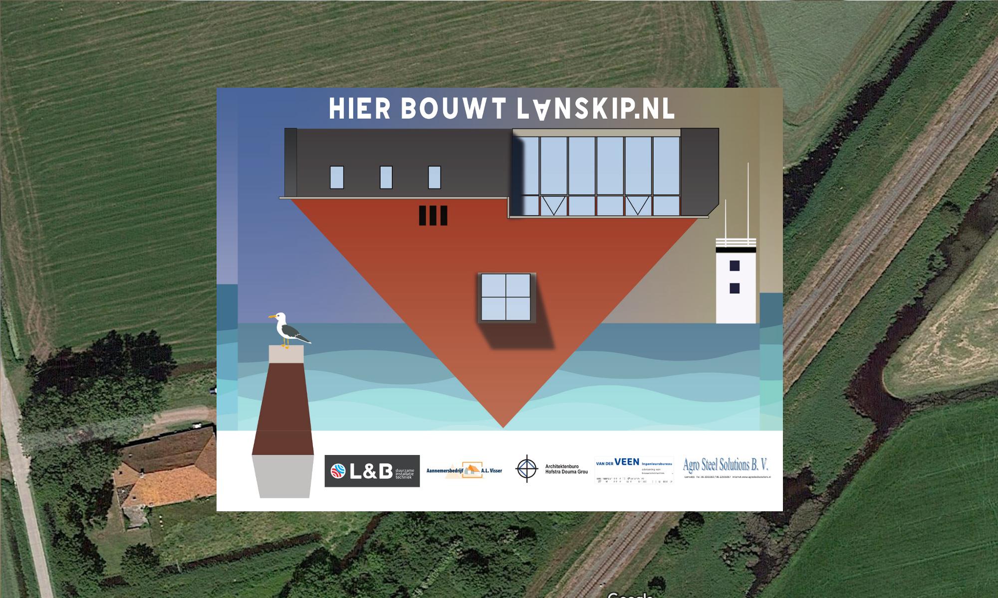 Hier bouwt Lanskip.nl
